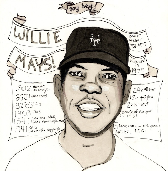 Love Song to Willie Mays