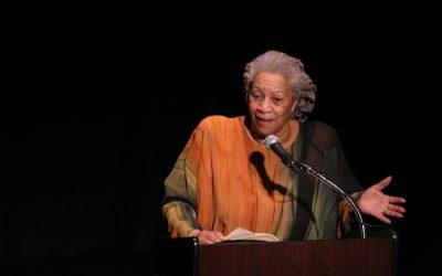 Toni Morrison: Finally Just a Writer